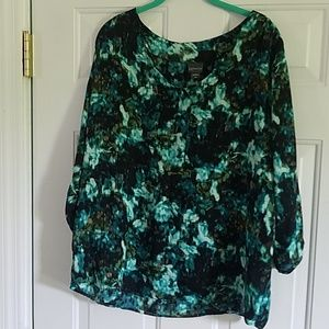 Covington NWT 1X blouse/ top